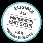 macaron participation employeur